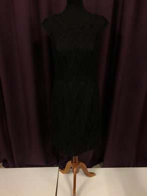 Kennedy Blue Size 12 Black Lace NEW Formal Dress