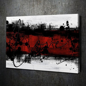 Abstract Love Red - Artwork Addict