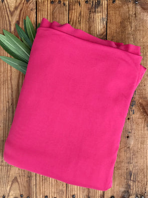 Bright Coral Double Brushed Poly Spandex