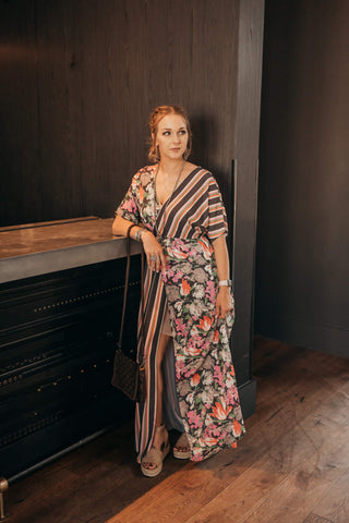 Midnight Bloom Maxi