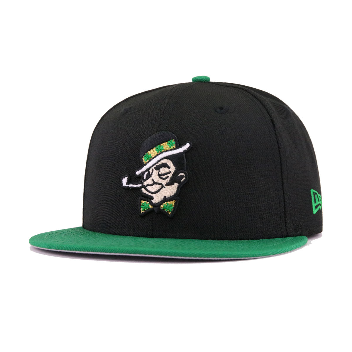 Boston Celtics Black Kelly Green Dissected New Era 9Fifty Snapback