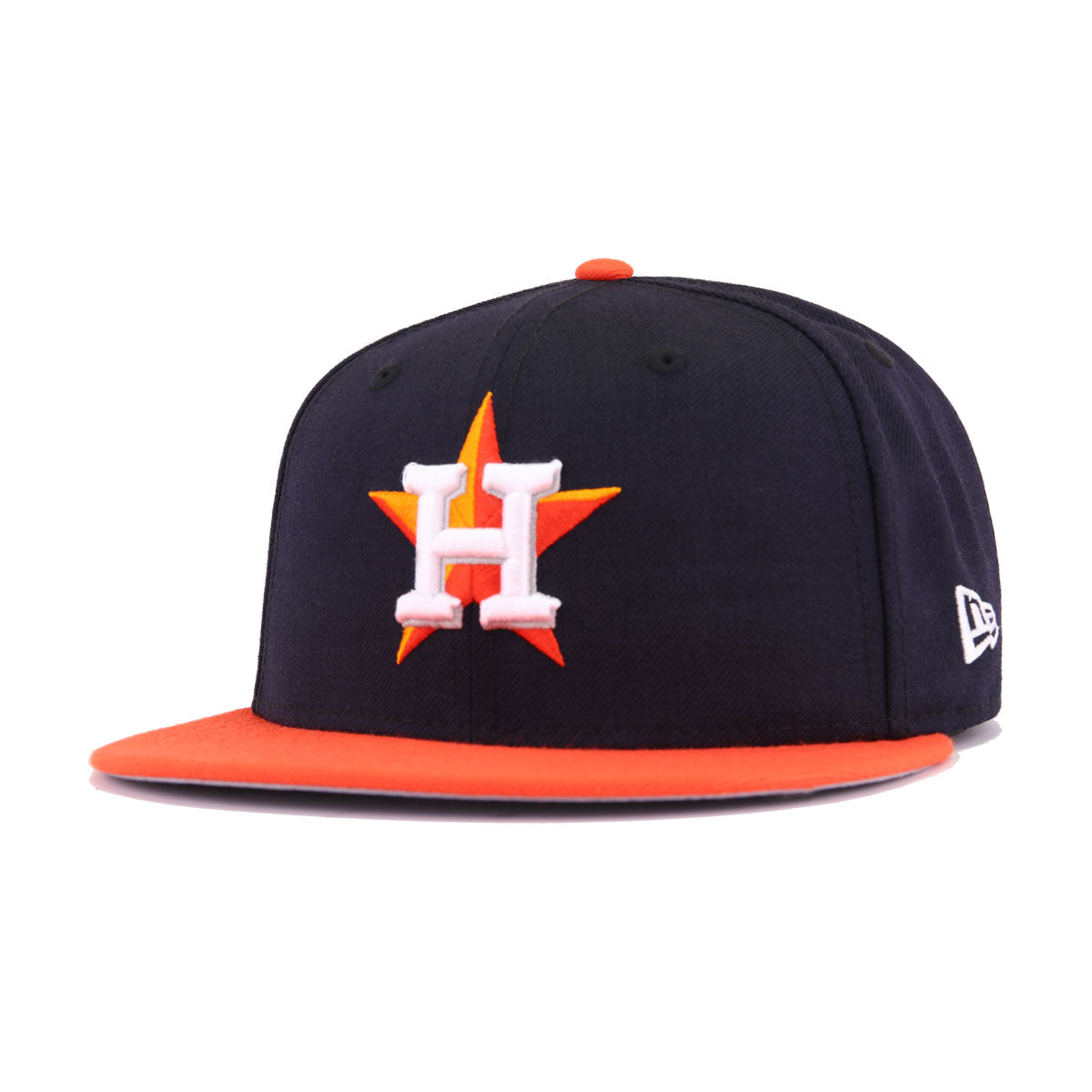Houston Astros Navy Orangeade 2017 World Series New Era 59Fifty Fitted