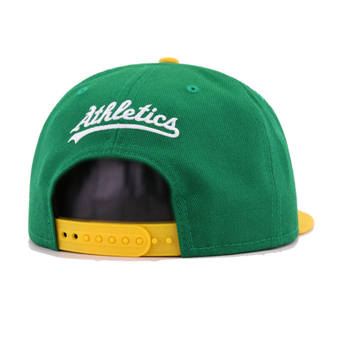 Oakland Athletics Kelly Green A's Gold Stomper New Era 9Fifty Snapback
