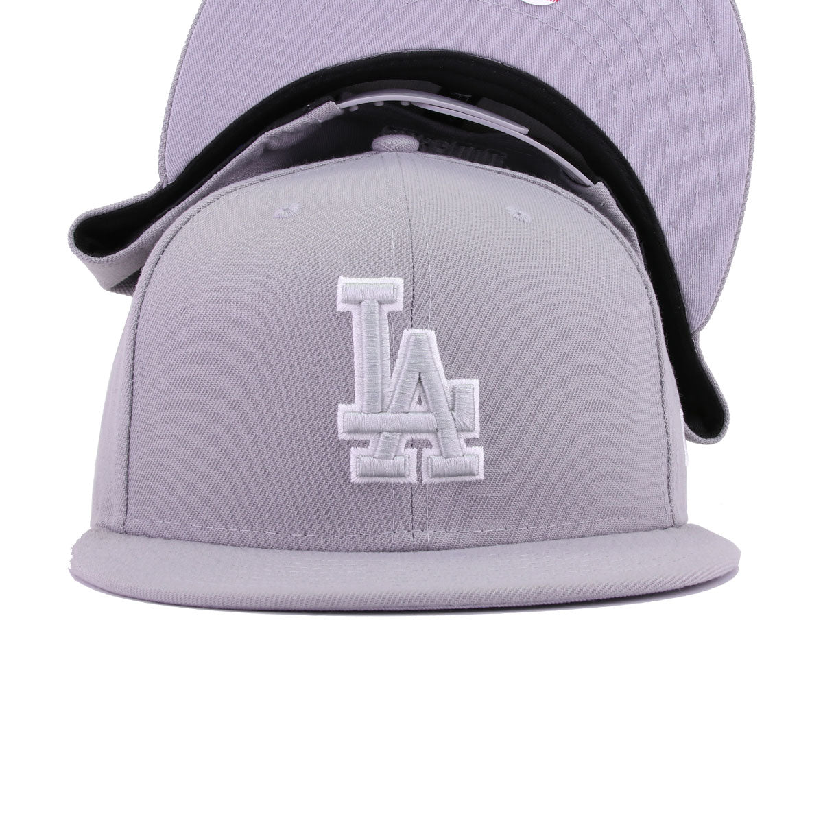 Los Angeles Dodgers Grey Tonal New Era 9Fifty Snapback