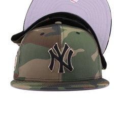 New York Yankees Woodland Camouflage 100th Anniversary New Era 9Fifty Snapback