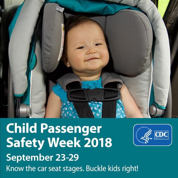 Buckle Up: It's Child Passenger Safety Week!