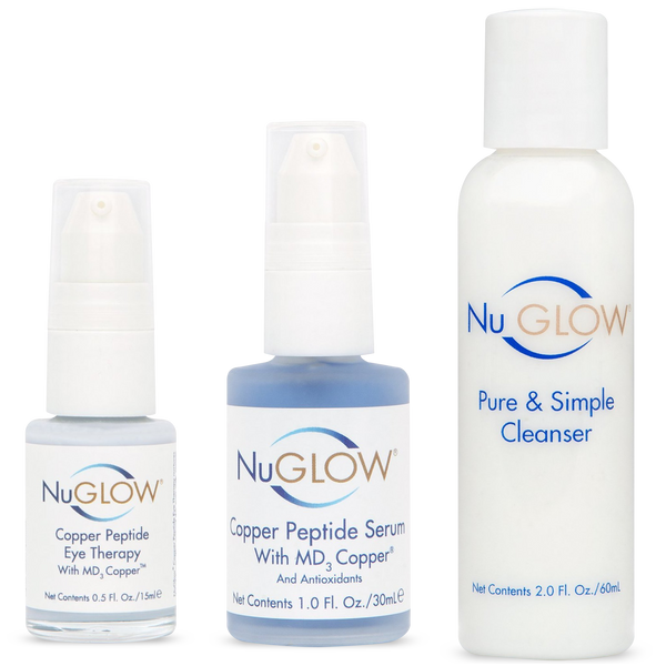 3-Piece Kit with Pure & Simple Cleanser - 60-Day Supply