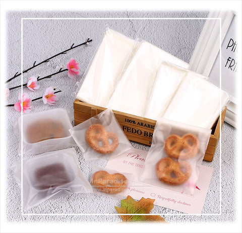 Self Adhesive Small Cookies Plastic Bags