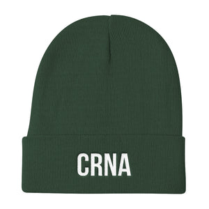 CRNA Certified Registered Nurse Anesthetist Knit Beanie