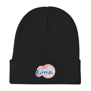 LA Clippers Knit Beanie