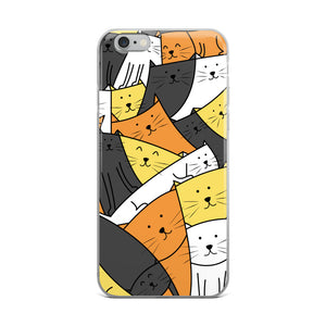 The Cats Are Watching iPhone Case