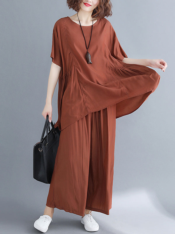 Soft Loose Comfotable Cotton Suit