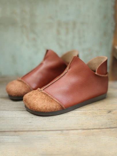 Size 35 Only one in stock Manual Genuine leather Split-joint Shoes