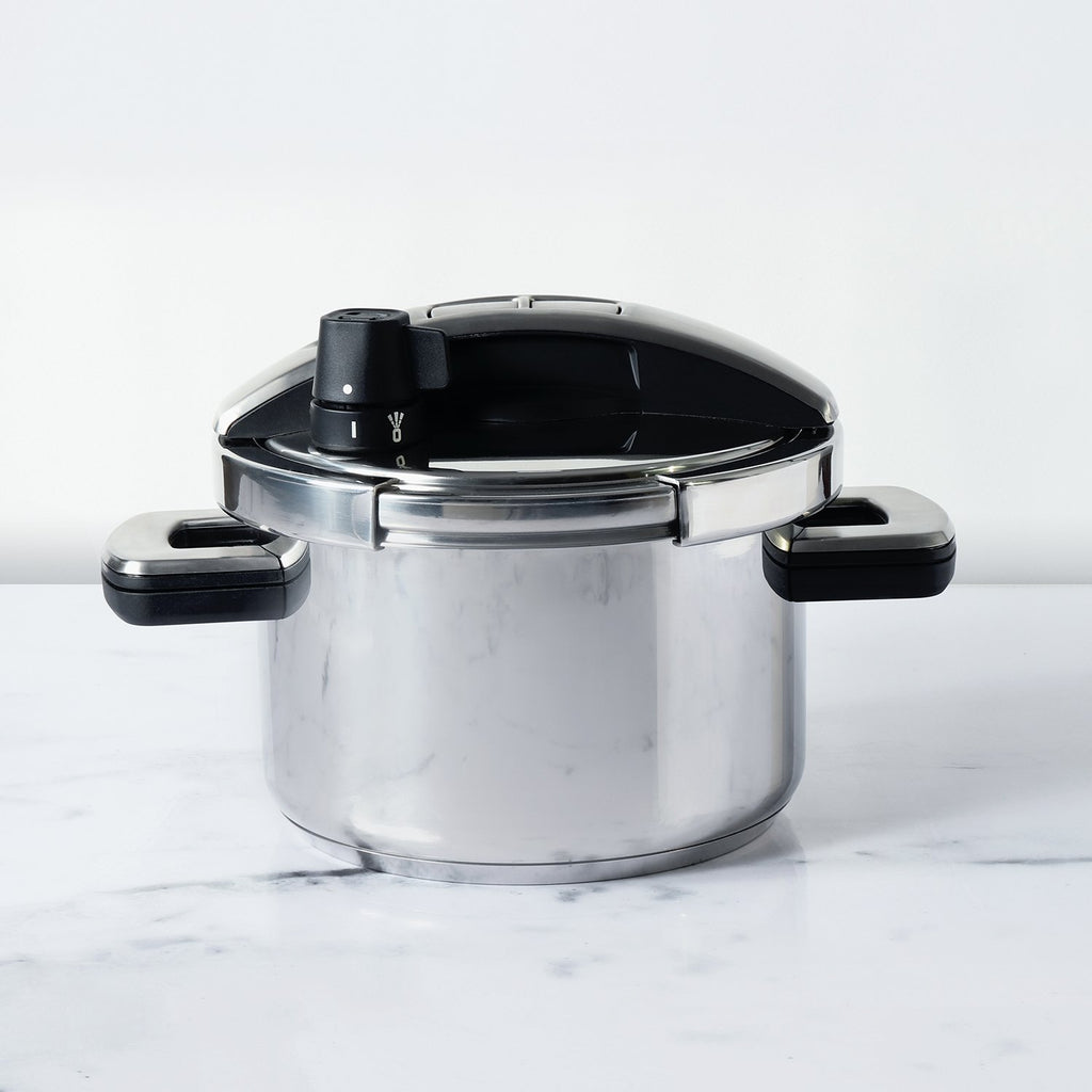 Meyer Stainless Steel 4L 'Single Hand' High Pressure Cooker