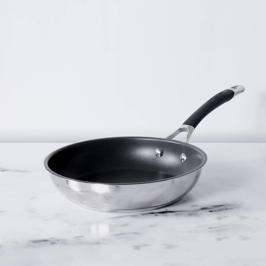 Momentum Non-Stick + Stainless Steel Skillet 25cm (Gas & Induction Compatible)