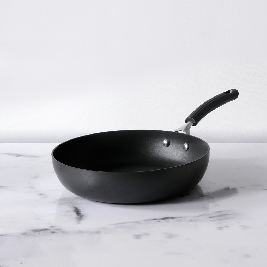 Origins Non-Stick + Hard Anodized Skillet 28cm, Grey (Suitable For Gas & Induction)