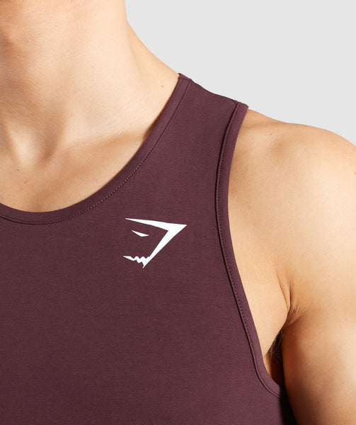Gymshark Critical Tank - Red 4