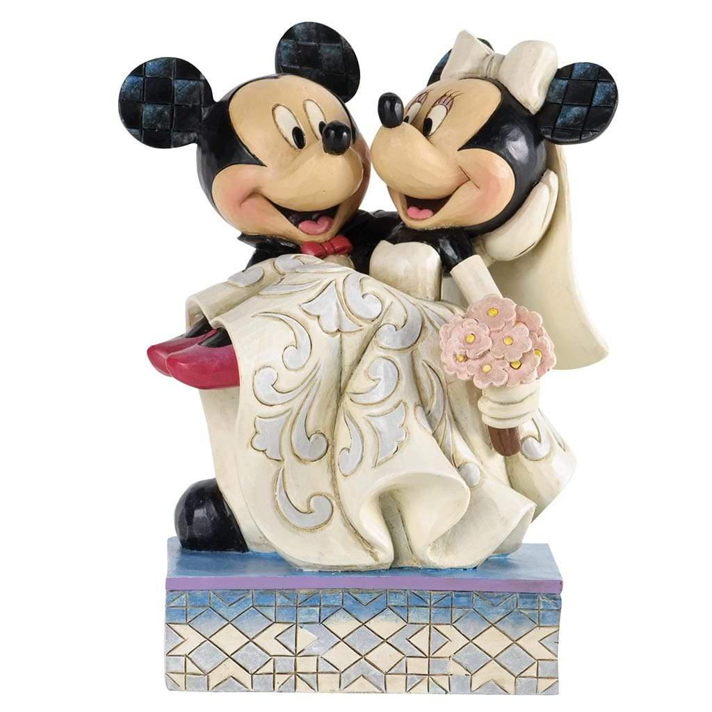 Disney Traditions by Jim Shore Congratulations - Mickey & Minnie Figurine - UK & Eire Website Exclusive