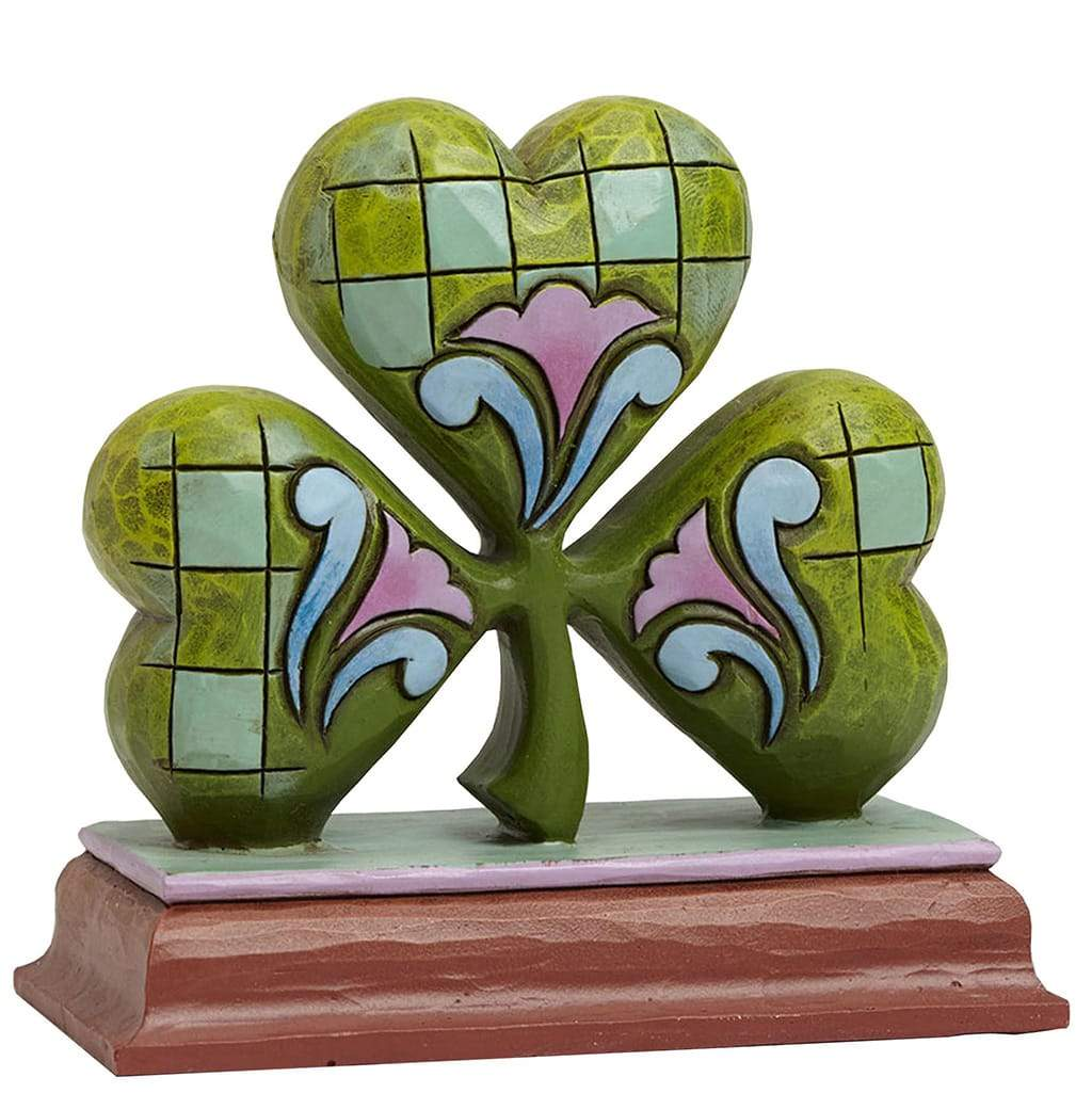 Heartwood Creek by Jim Shore Shamrock Mini Figurine - Website Exclusive