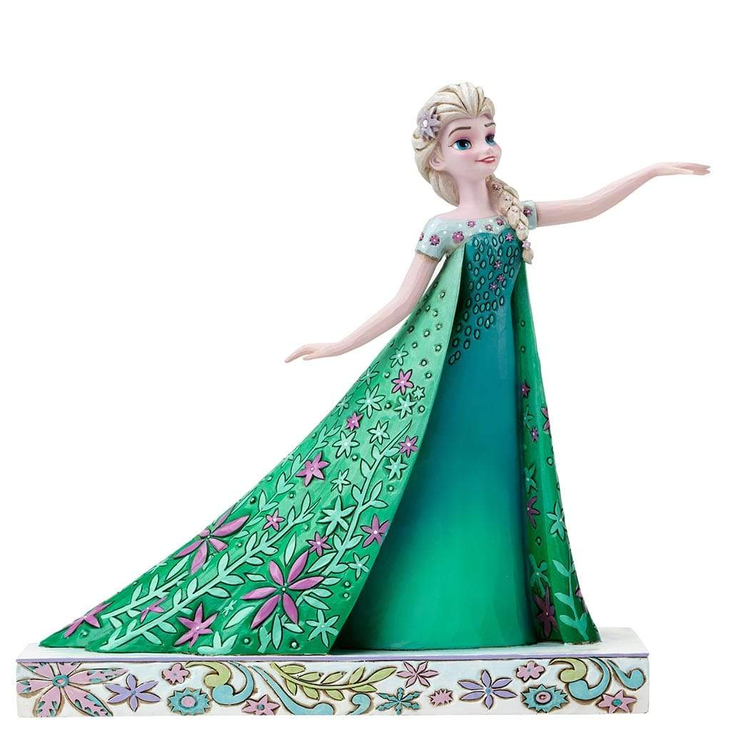 Disney Traditions by Jim Shore Celebration of Spring - Elsa Figurine - Website Exclusive