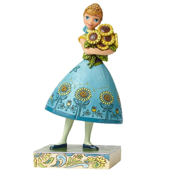 Disney Traditions by Jim Shore Spring in Bloom - Anna Figurine - Website Exclusive