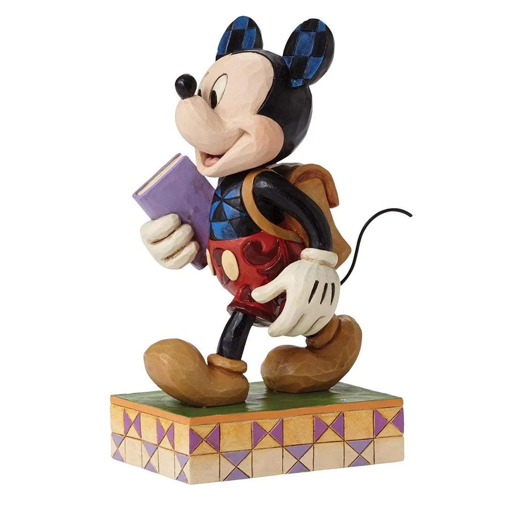 Disney Traditions by Jim Shore Eager to Learn - Mickey Mouse Figurine - Website Exclusive