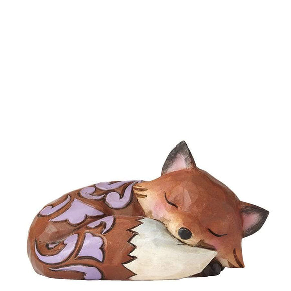 Heartwood Creek By Jim Shore Fox Sleeping Mini Figurine - Website Exclusive
