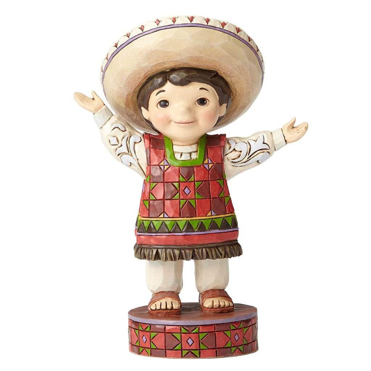 Disney Traditions by Jim Shore Welcome To Mexico Figurine - Website Exclusive