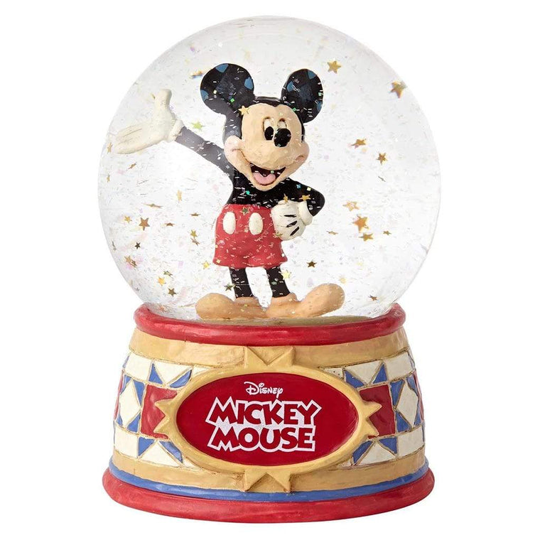 Disney Traditions by Jim Shore The One & Only - Mickey Mouse Waterball - UK & Eire Website Exclusive