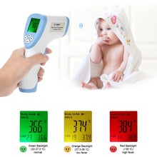 Baby Forehead Non-contact digital Infrared Thermometer With LCD Backlight