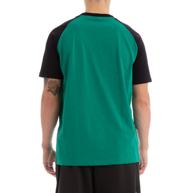 Kappa Authentic Baria Green Black T-Shirt