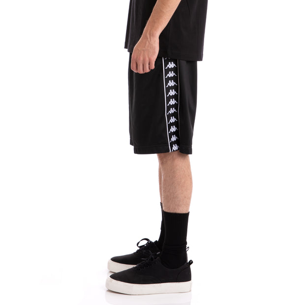 Kappa 222 Banda Treadwellz Black Black Shorts
