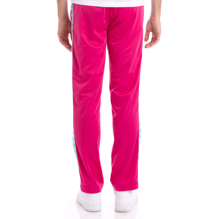 Kappa 222 Banda Astoriazz Fuchsia Green Lt Trackpants