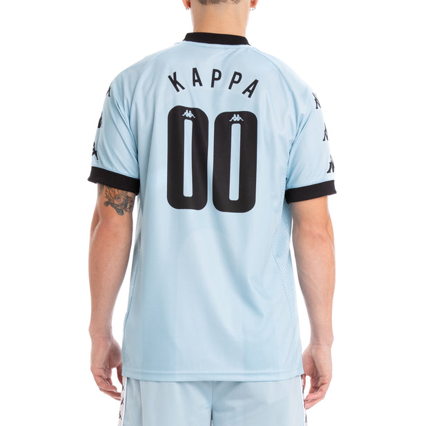 Kappa Authentic Tabe Azure Celeste Black Jersey