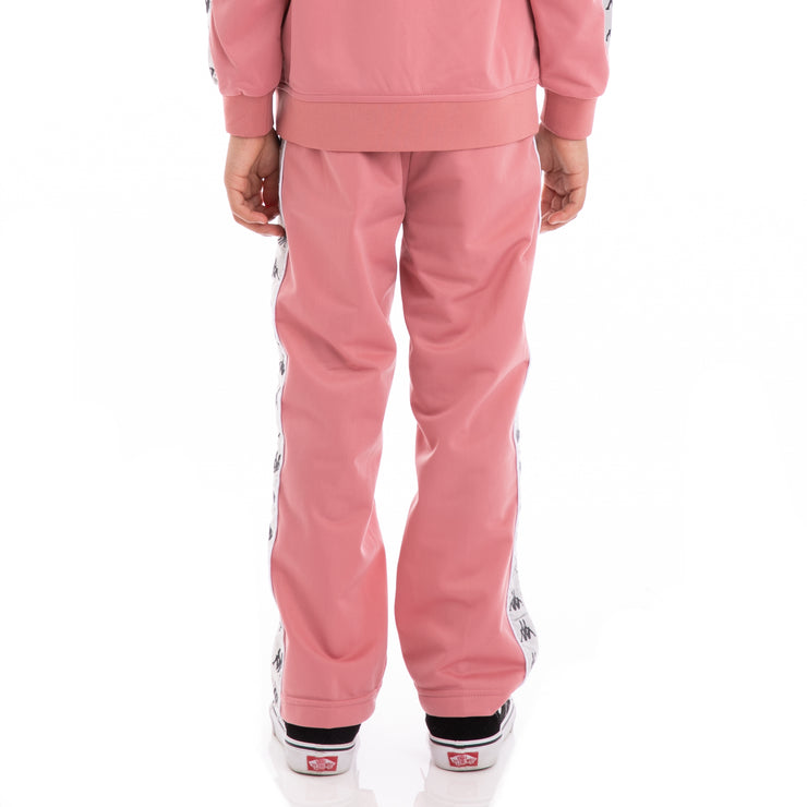 Kids 222 Banda Astoriazz Pink Greysilver Black Trackpants