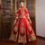 Mandarin Collar Floral Embroidery Traditional Chinese Wedding Suit