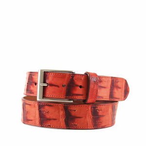 Genuine Vintage Crocodile Tail Belt