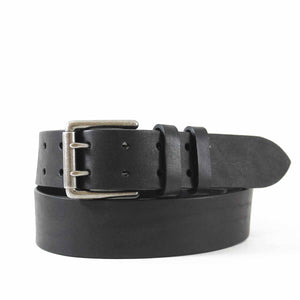 Leather Jean Belt with Two-Hole