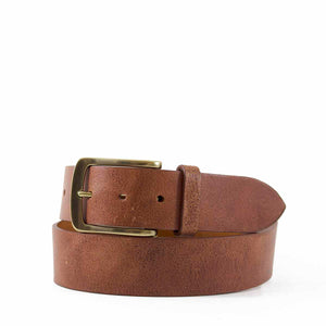 Distressed Leather Belt