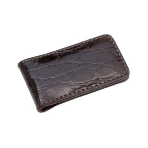 Genuine Shiny Crocodile Magnetic Money Clip