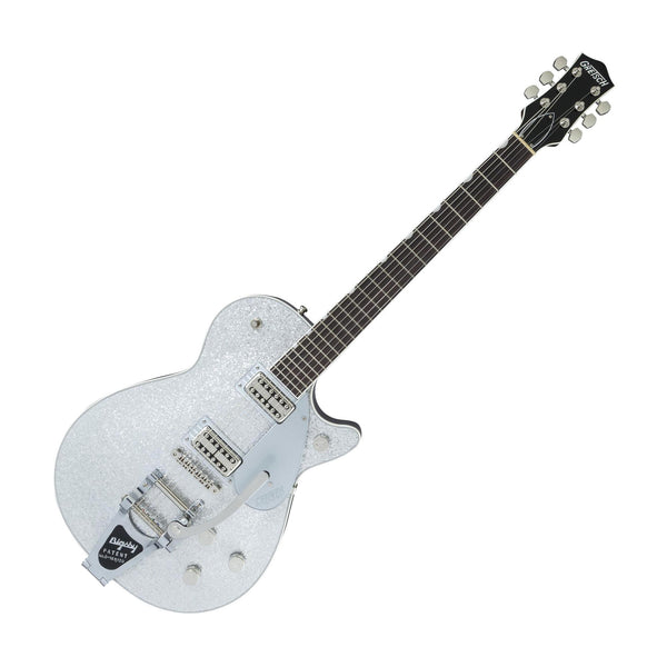 Gretsch G6129T Players Edition Jet w/Bigsby, Silver Sparkle