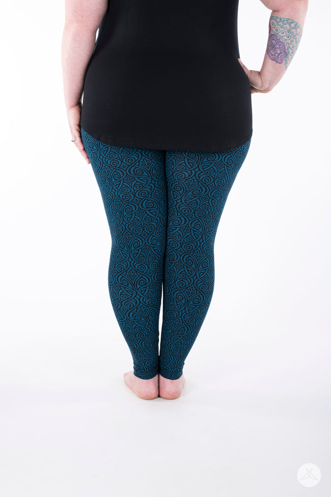 Atlantis Plus leggings - SweetLegs