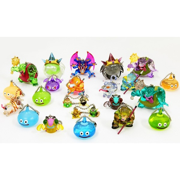 "OPEN BOX Square-Enix Dragon Quest Crystral Monsters 10 : 1"" Sydow Mascot Charm (complete with all original packaging) - moosedinky"