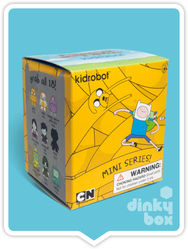 Kidrobot Adventure Time mini figures available to buy in the UK via your friendly dinkybox store.