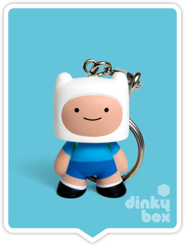 Kidrobot Adventure Time, blind boxed and open choice keychains available to purchase in the UK. Here we have the adorable FINN character (open packaging, new).