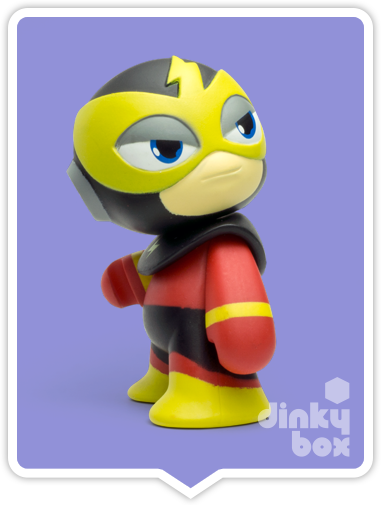"OPEN BOX Capcom x Kidrobot Rockman / Mega Man : 3"" Elec Man mini figure 2/20 (complete with all original packaging) - moosedinky"