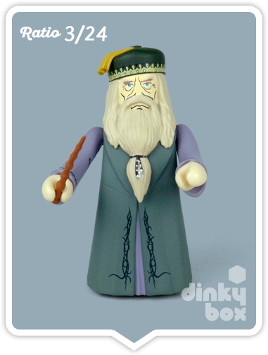 Dumbledore mini figure collectable produced by Medicom Toys, Japan. Available to buy from dinkybox UK.