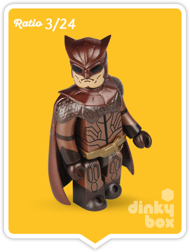 "OPEN BOX Medicom Kubrick DC Comics / Warner Bros. Watchmen : 2.5"" Nite Owl mini figure 3/24 (complete with all original packaging) - moosedinky"
