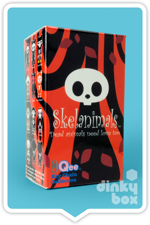 BLIND BOX : Toy2R Skelanimal Artist S1 Collectable Mini Figure - Just who will arrive at your UK home? 15yrs+ - moosedinky