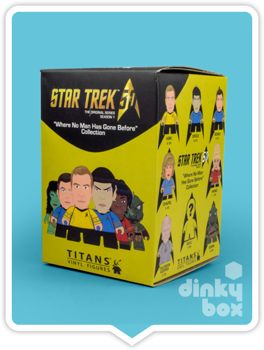 OPEN BOX : Titans Star Trek 'Where No Man Has Gone Before' Balok mini figure 1/20 - moosedinky